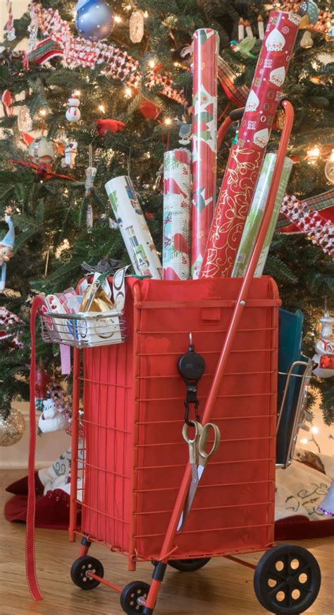 Diy Wrapping Paper Cart