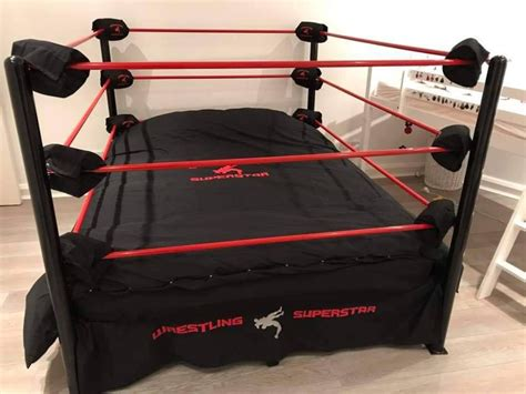 Diy Wrestling Ring Bed With Ropes