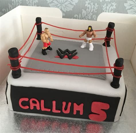 Diy Wrestling Ring Cake