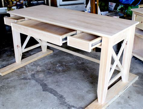Diy Writing Table Plans