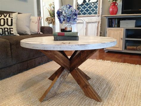 Diy X Base Round Table