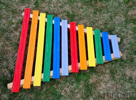 Diy Xylophone For Kids