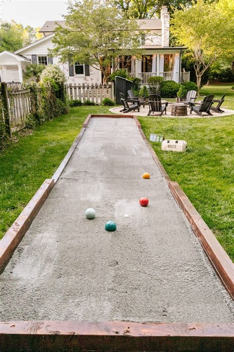 Diy bocce court Image