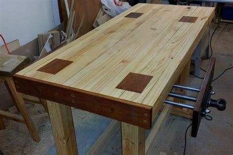 Diy woodworking workbench Image