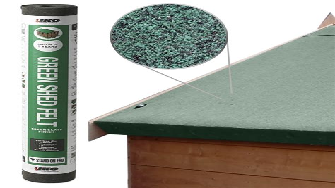 Diy+roofing+felt+shed