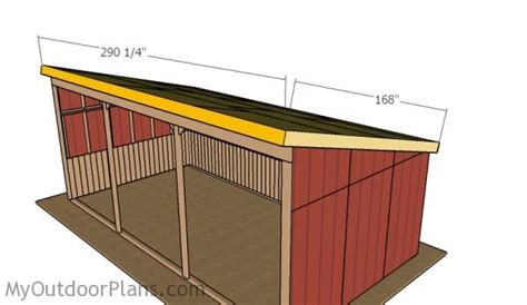 Diy-12x24-Loafing-Shed-Plans