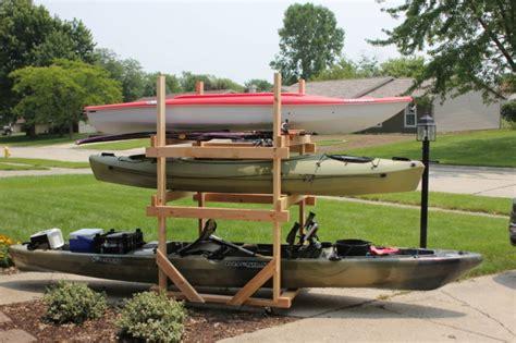 Diy-2-X-4-Kayak-Rack