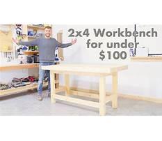 Best Diy 2x4 workbench for under 100 modern builds woodworking