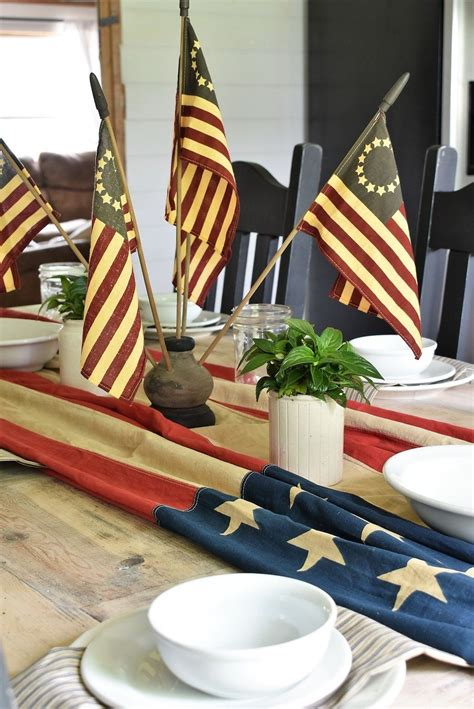 Diy-4th-Of-July-Table-Decorations