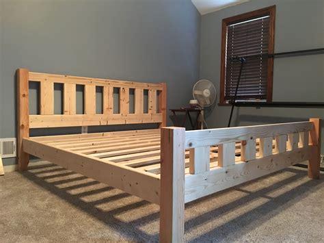 Diy-4x4-Bed-Frame