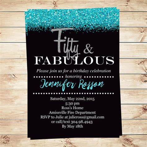 Diy-50th-Birthday-Invitations