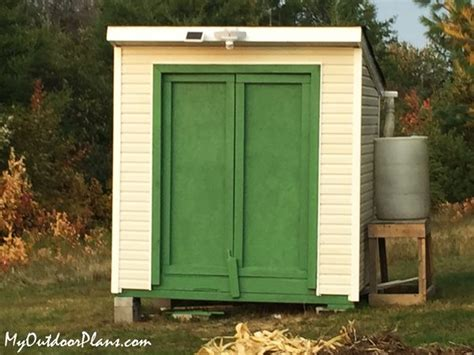 Diy-6-8-Lean-To-Shed