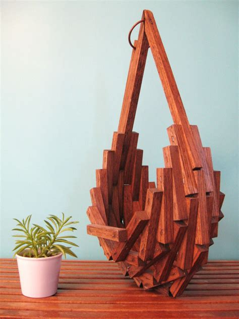 Diy-Abstract-Wooden-Flower-Hanging-Basket