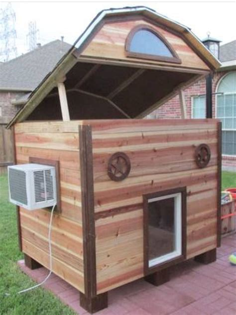 Diy-Ac-Dog-House