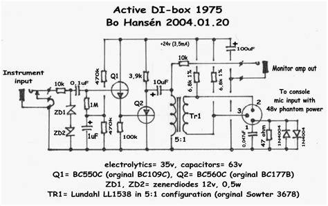 Diy-Active-Di-Box-Schematic