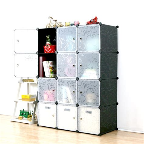 Diy-Add-Doors-To-Cube-Storage-Organizer