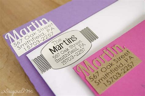 Diy-Address-Labels