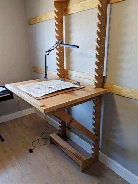 Diy-Adjustable-Angle-Desk