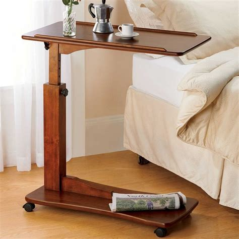 Diy-Adjustable-Bedside-Table