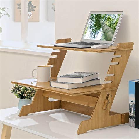 Diy-Adjustable-Desk-Stand