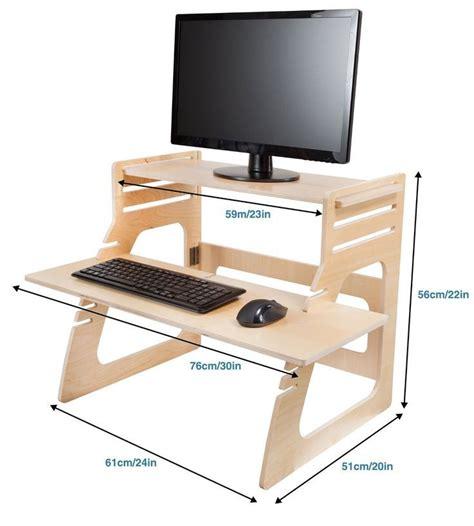 Diy-Adjustable-Standing-Desk-Conversion