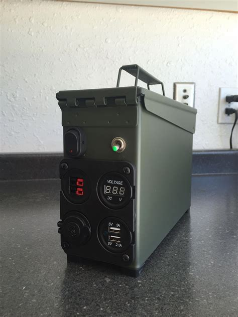 Diy-Ammo-Can-Battery-Box