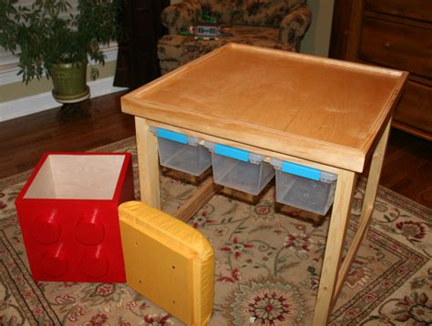 Diy-Ana-White-Lego-Table