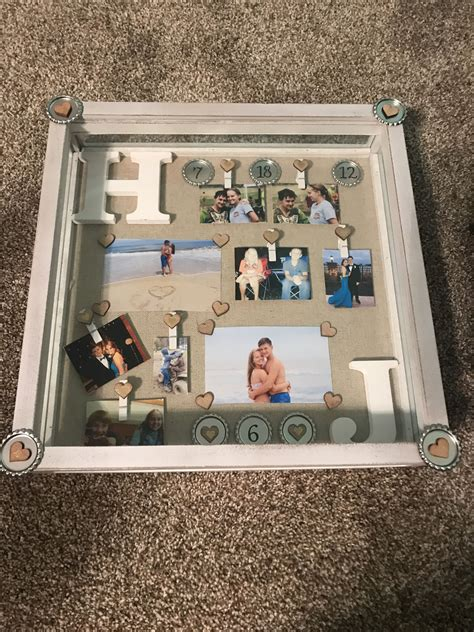 Diy-Anniversary-Shadow-Box