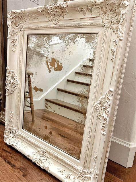 Diy-Antique-Mirror-Frame