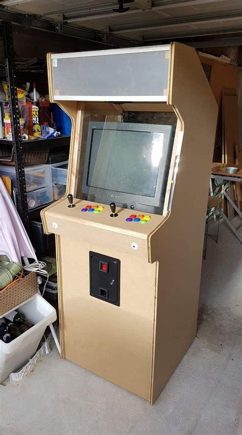 Diy-Arcade-Cabinet-Prefab