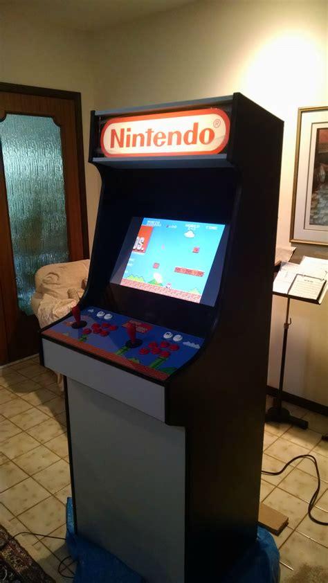 Diy-Arcade-Cabinet-Retropie