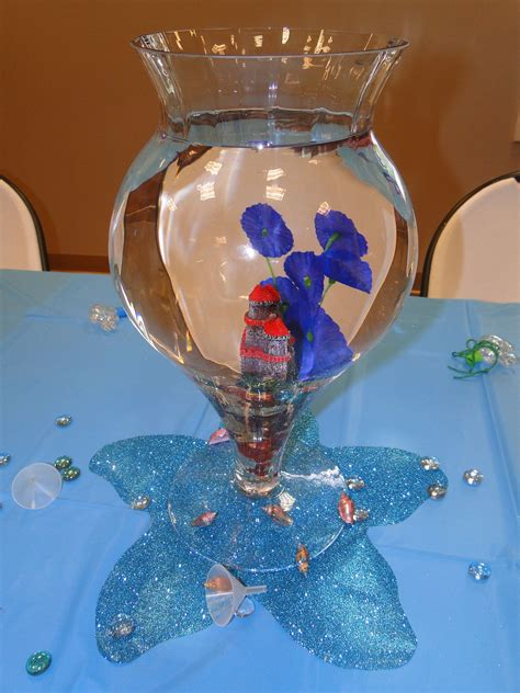 Diy-Ariel-Under-The-Sea-Fish-Bowl-Table-Centerpieces