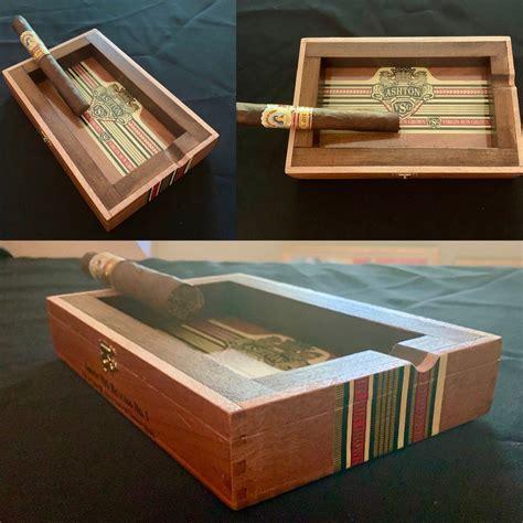 Diy-Ashtray-From-Cigar-Box