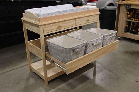 Diy-Baby-Crib-And-Changing-Table