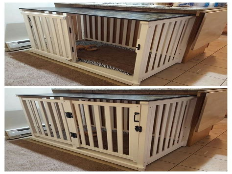 Diy-Baby-Crib-Into-Dog-Crate