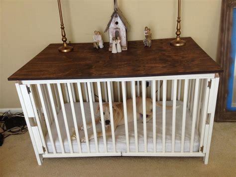 Diy-Baby-Crib-To-Dog-Crate