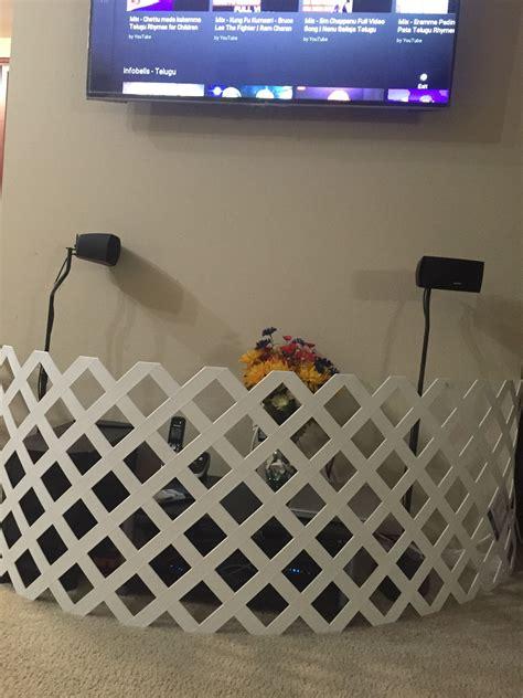 Diy-Baby-Proof-Tv-Stand