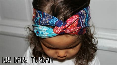 Diy-Baby-Turban-Headband