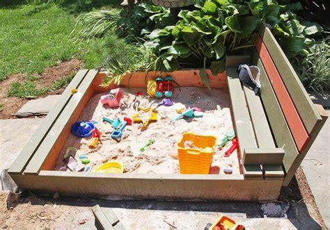 Diy-Backyard-Sandbox
