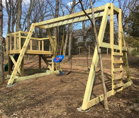 Diy-Backyard-Swing-Set-Plans