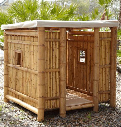 Diy-Bamboo-Playhouse