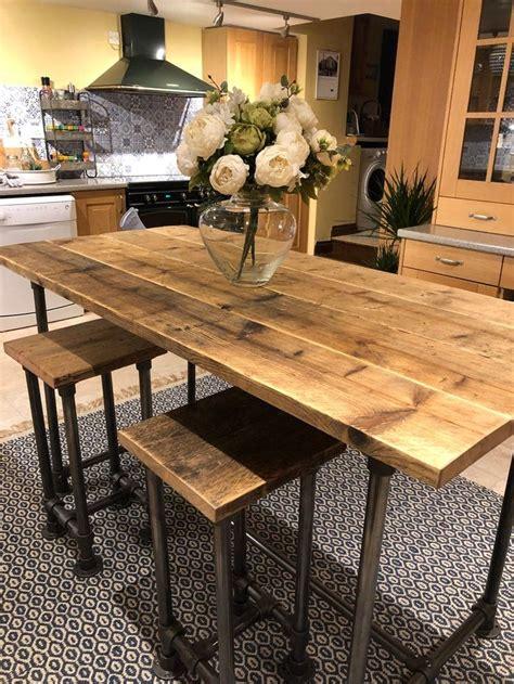 Diy-Bar-Height-Kitchen-Table