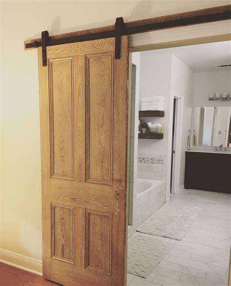 Diy-Barn-Door-Install