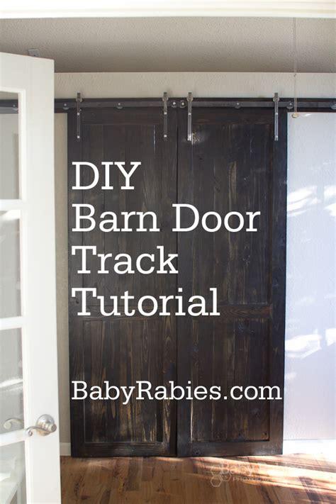 Diy-Barn-Door-Track-Tutorial