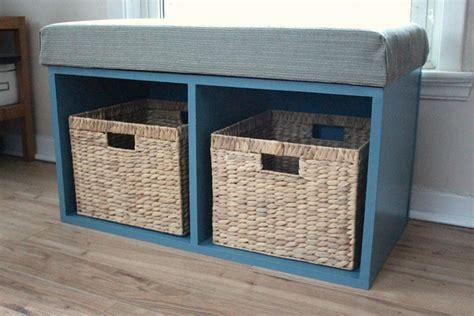 Diy-Basket-Storage-Bench