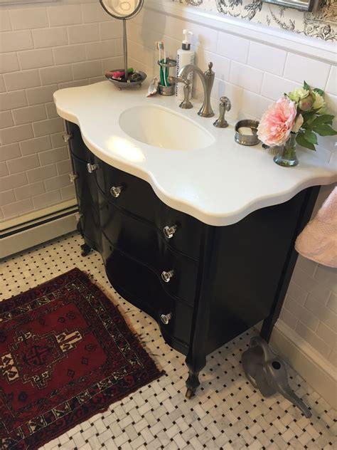 Diy-Bathroom-Sink-From-An-Old-Dresser