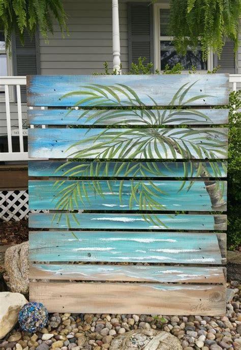 Diy-Beach-Painting-On-Wood