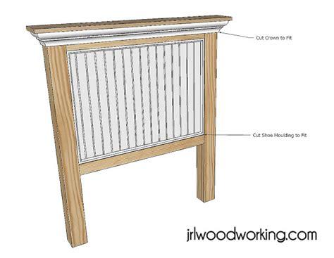Diy-Beadboard-Headboard-Plans