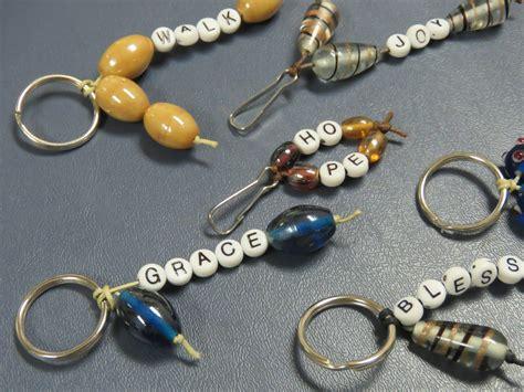 Diy-Beaded-Keychain