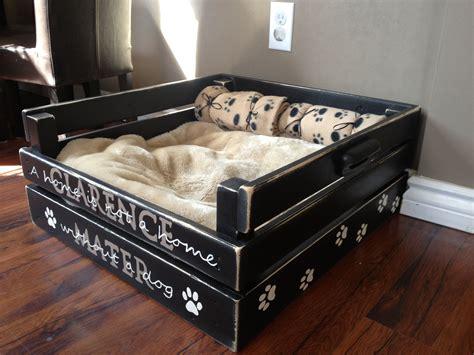 Diy-Bed-Frame-With-Dog-Bed